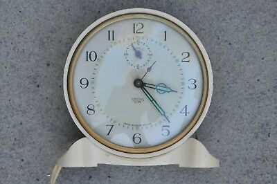 Beautiful Vintage Bakelite Smiths Sectric Electric Clock Working