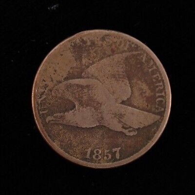 1857 Flying Eagle Cent Fine Condition