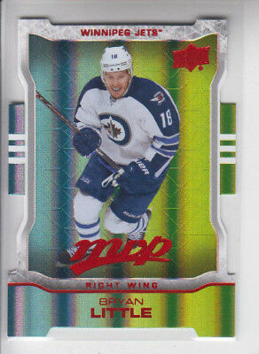 14/15 UD MVP Winnipeg Jets Bryan Little Colors and Contours card #70