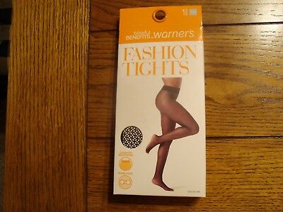 2720b8bc8a20d Blissful Benefits by Warner's Fashion Tights, Black 1 Pair - Size S/M New