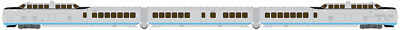 Rapido 520501, N Scale, TurboTrain, United Aircraft/US DOT, DCC & Sound Equipped
