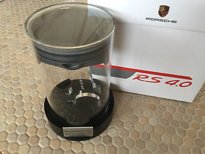 Porsche Official 911 Gt3 Rs 4.0 Owners Gift Piston In Cylinder & Brochure Rare
