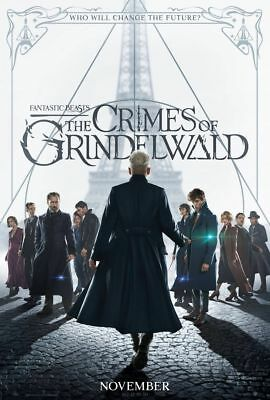 Fantastic Beasts: The Crimes of Grindelwald - 27x40 D/S original movie poster B
