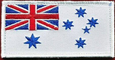 Australian National Flag - RAN Ensign Militaria Patch Patches