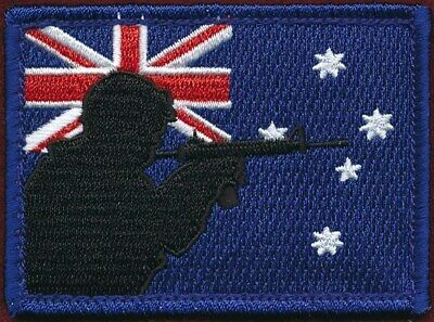 """Australian National Flag  - Fun Patch """"Digger"""" Militaria Patch Patches"""
