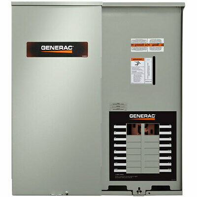 Generac 100-Amp Outdoor Automatic Transfer Switch w/ 16-Circuit Load Center