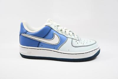 Nike Air Force 1 GS Glacier Blue White  lot 314219 411 Grade School Size 5