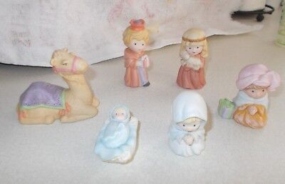 Avon 6 Heavenly Blessings Figurines, 1986