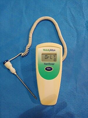 Welch Allyn SureTemp 679 Thermometer with 02678-000 Oral Probe
