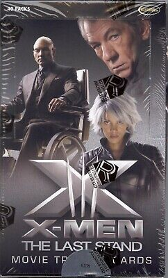 X-Men The Last Stand Movie Factory Sealed Card Box