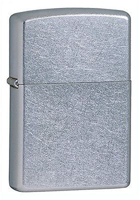New Marlboro Zippo Lighter  207 Regular Street Chrome Finish Black Box