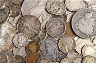 $1 Face Value - BEAUTIFUL 90% Silver U.S. Coins SILVER investment lot mixed lot