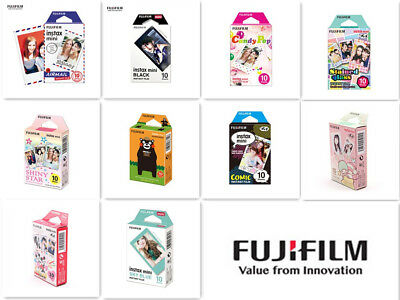 For Fujifilm Instax Mini 9 8 50 70 90 Instant Camera Color Photo Film 10 sheets