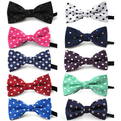 10x Bow Tie Collar Baby Kids Dog Pet Boys Girls Bowtie Clip LOT Party Grooming
