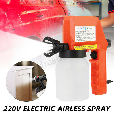 Electric Paint Spray Gun Airless Painting Car House Furniture Ceiling