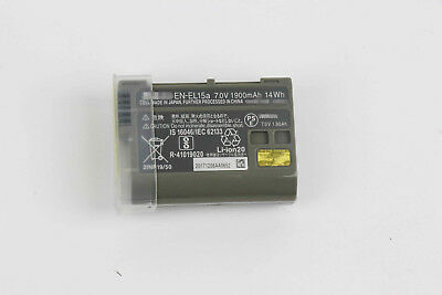 NEW Battery For Nikon D850 D7500 D750 D810 D7200 D7000 D7100 EN-EL15A battery