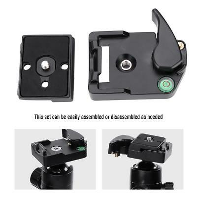 QR-13 Quick Release Plate Clamp Mount Adapter Accessory for Manfrotto 200PL-14