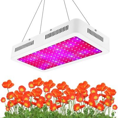 1500W LED Grow Light Lamp IR Full Spectrum Hydroponic Veg Bloom Indoor Plant