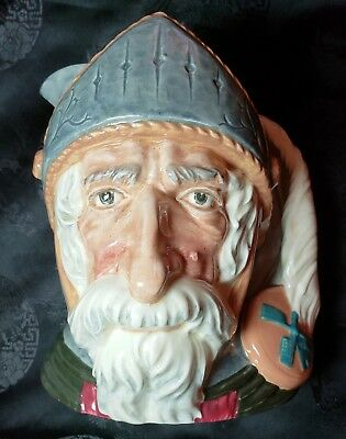 Royal Doulton and Co Limited Don Quixote 1956 Large Porcelain Toby jug England