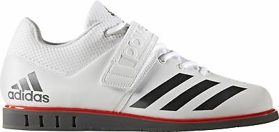 MENS ADIDAS POWERLIFT 3.1 White Weight Lifting Shoes  Trainers - EUR ... d4e520dd578e