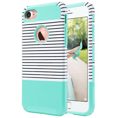 Hybrid Rubber Shockproof Protective Cover for iPhone 8 Plus/iPhone 7 Plus Case