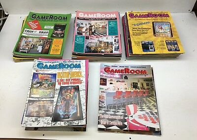 Game Room Magazine Collection x 46, Pinball, Video Arcade Games 2000-2004