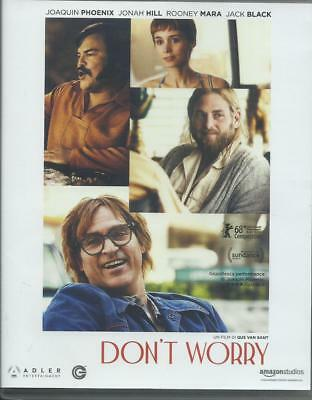 Don't worry (2018) Blu Ray