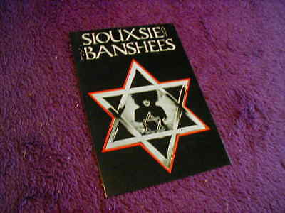 Siouxsie & The Banshees ,unposted Postcard