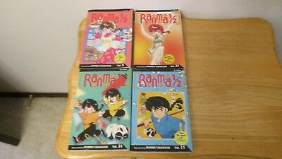ranma 1/2 issues 5,11,27 & 31