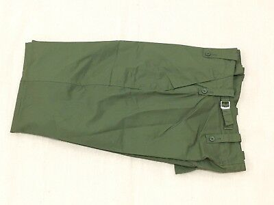 "NEW British Army-Issue Olive-Green Lightweight Trousers. 31"" Waist."
