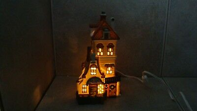 """DEPARTMENT 56 DICKENS' Village Series 89 """"GREEN GATE COTTAGE"""" LE 03544 OF22,500"""