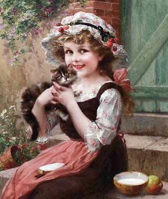 """The Little Kitten""  by Emile Vernon"