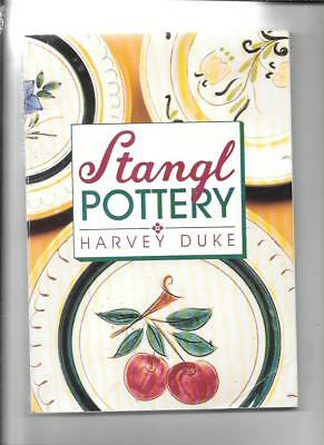 STANGL POTTERY PRICE GUIDE by HARVEY DUKE