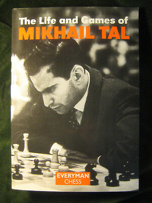 The Life and Games of Mikhail Tal / SIGNED By Michael Adams GM