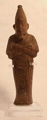 Egyptian Alabaster Carved Osiris Mummiform Figure