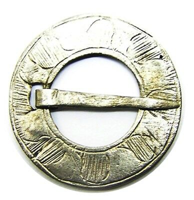 13th - 14th century Medieval Silver Ring Brooch