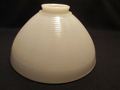 """Vintage~~10"""" Milk Glass Torchiere Lamp Shade"""