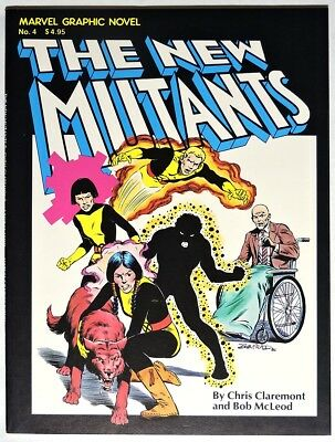 S508. MARVEL GRAPHIC NOVEL #4 VF- (1982) Origin & 1st App. of THE NEW MUTANTS(M)