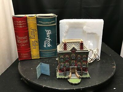 "DEPT 56 Storybook Village 1998 MADELINE'S ""OLD HOUSE IN PARIS #S"