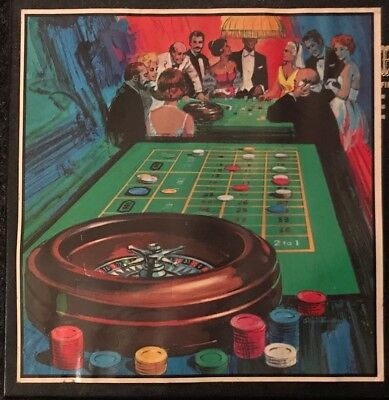 Roulette Wheel Game by Pleasantime Vintage 1950
