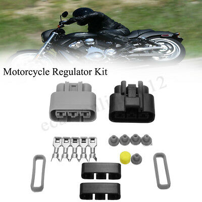 Universal Voltage Regulator Rectifier Connector Kit 710000261 For Honda BMW