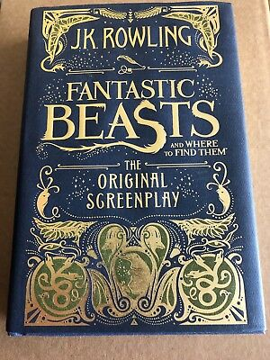 Fantastic Beasts and Where to Find Them by J. K. Rowling (2016, Hardcover)