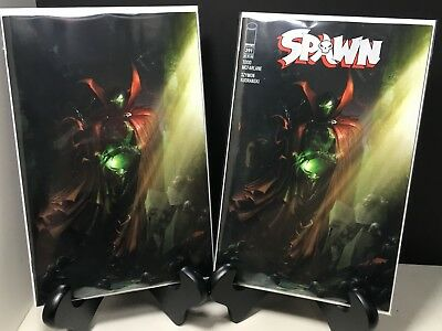 Spawn #291 Set Of 2 Mattina Regular Cover And Virgin Variant 2018 Nm Mcfarlane