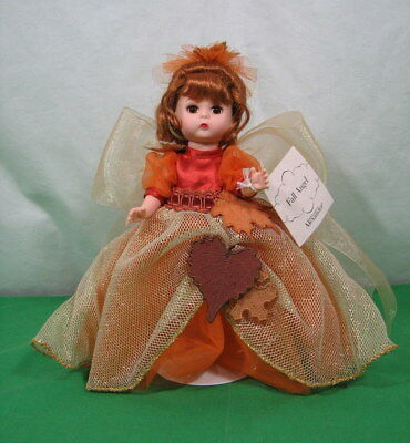 "Madame Alexander ""fall Angel"" Doll 8"" Tall 28360 With Box And Tag Vg Condition"