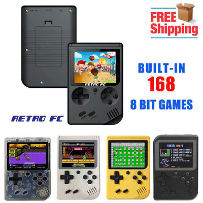 168 Games GB Coolbaby Gameboy Retro FC Tetris Handheld Video Games Console PSP