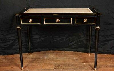 Regency Lacquer Desk Writing Table Bureau Plat