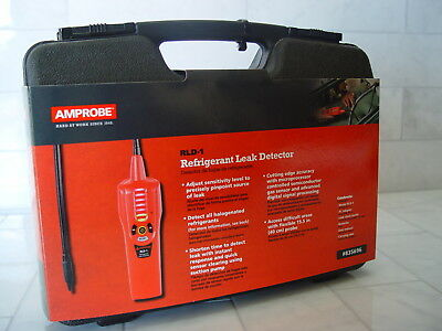 Amprobe RLD-1 Refrigerant Leak Detector with Carry Case and Accessories