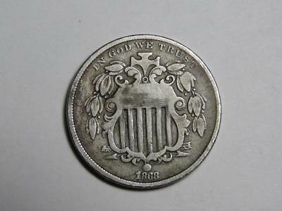 1868 Shield Nickel - US Coin