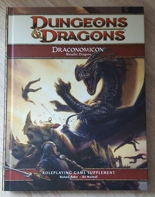 ++ Draconomicon Metallic Dragons 4e ++ D&D 4 th Edition, 4e Dungeons & Dragons