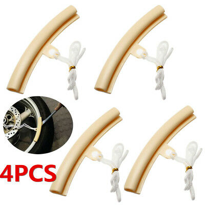 4x Motorcycle Tyre Tire Tool Protectors Wheel Changing Rim Edge Remove Cover